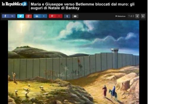 Il muro di betlemme l 39 ultima vergogna del sito di for Sito repubblica
