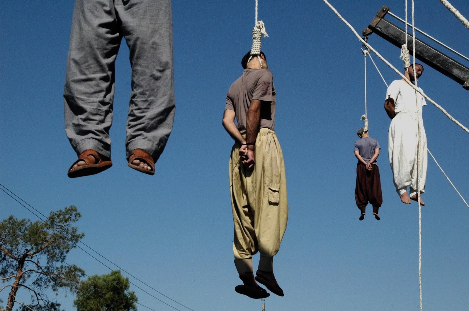 impiccati in iran