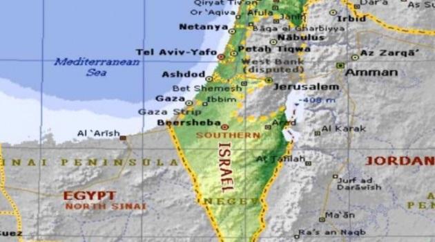 Cartina Politica Israele.Cartina Israele 728x344 L Informale
