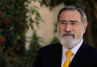 """Rabbi Sacks contro il movimento BDS: """"Se vi interessano i diritti, trovate un altro modo"""""""