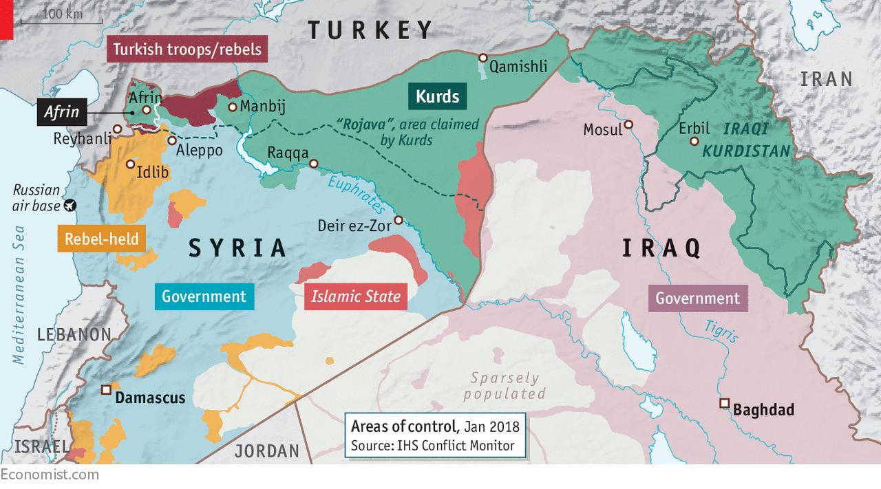 Cartina Kurdistan.Erdogan Riscrive Il Diritto Internazionale E Nessuno Obbietta Nulla